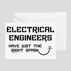 Electrical Engineers Sparks Greeting Cards (Packag