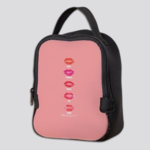 Grease Colored Lips Neoprene Lunch Bag