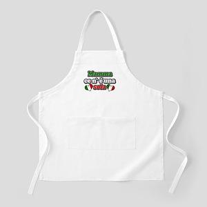 Mamma ce n' e' una Sola Italian Mom BBQ Apron