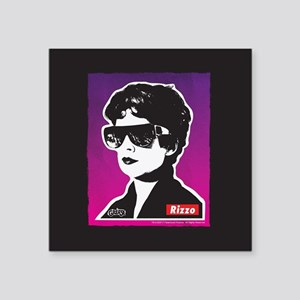 "Grease Rizzo Square Sticker 3"" x 3"""