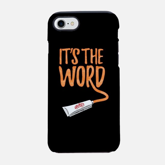 Grease It's The Word iPhone 7 Tough Case