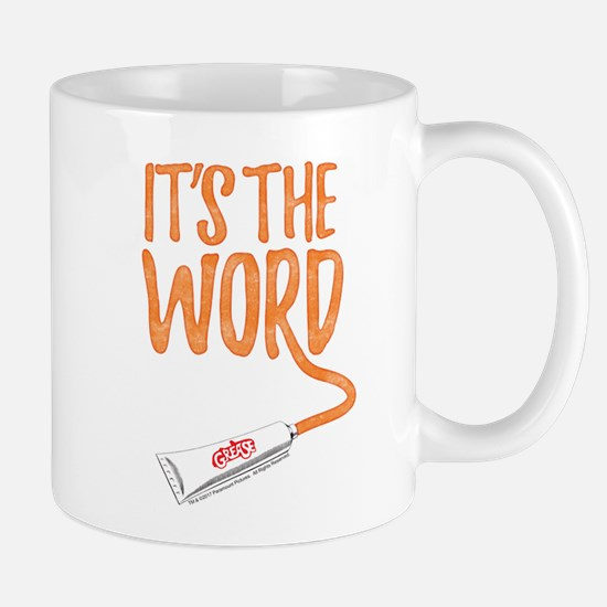 Grease It's The Word Mug