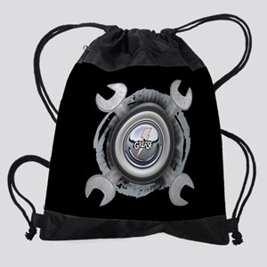 Grease Wrench Tire Drawstring Bag