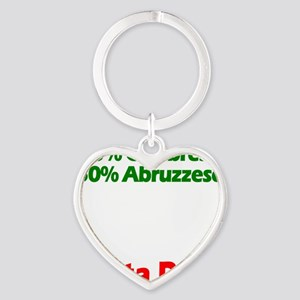 Calabrese - Abruzzese Heart Keychain