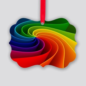rainbow Picture Ornament
