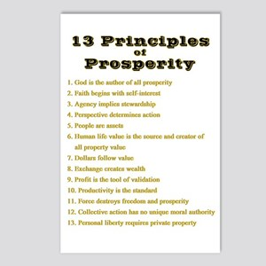 13 Principles Postcards (Package of 8)