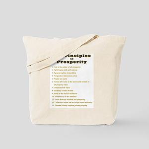 13 principles Tote Bag