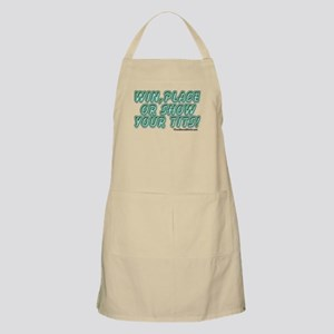 Win, Place or Show Your Tits BBQ Apron