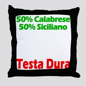 Calabrese - Siciliano Throw Pillow