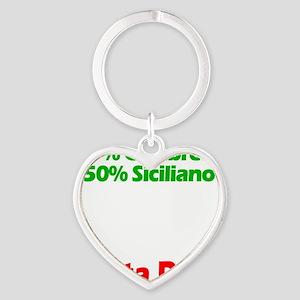 Calabrese - Siciliano Heart Keychain