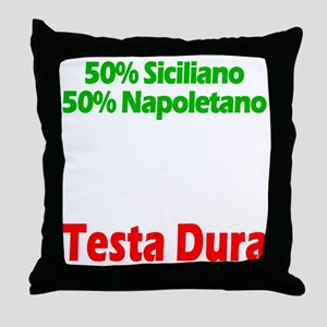 Siciliano - Napoletano Throw Pillow