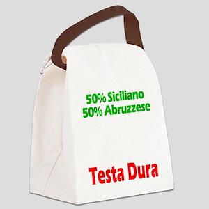 Siciliano - Abruzzese Canvas Lunch Bag