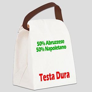 Abruzzese - Napoletano Canvas Lunch Bag