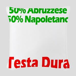 Abruzzese - Napoletano Woven Throw Pillow