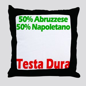 Abruzzese - Napoletano Throw Pillow