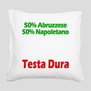 Abruzzese - Napoletano Square Canvas Pillow