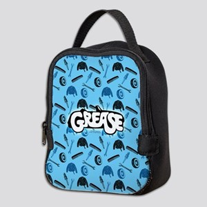 Grease tools pattern Neoprene Lunch Bag