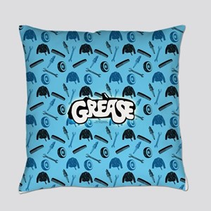 Grease tools pattern Everyday Pillow