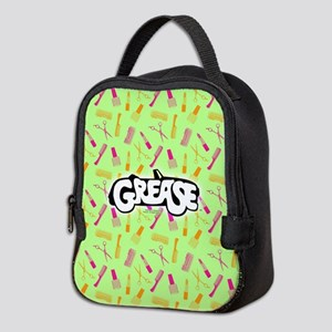 Grease Lipstick Comb Pattern Neoprene Lunch Bag