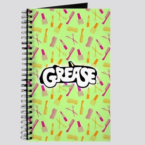 Grease Lipstick Comb Pattern Journal
