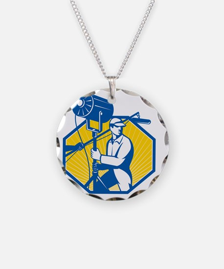 Electrical Lighting Technici Necklace