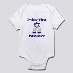 Twins' First Passover Infant Bodysuit