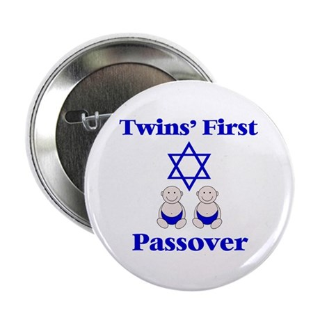 Twins' First Passover Button