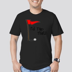 Id Tap That! Men's Fitted T-Shirt (dark)