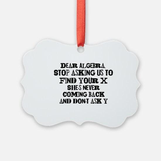 DearAlgebra Ornament
