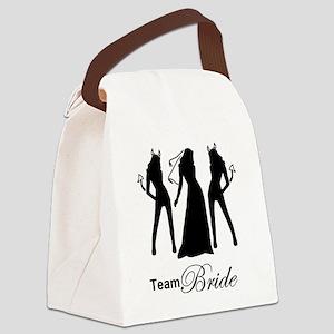team bride Canvas Lunch Bag