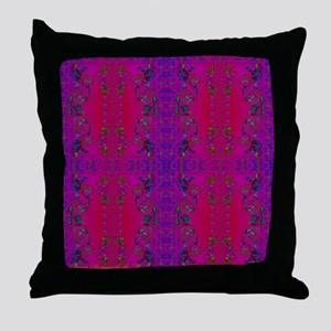 French Silk Scarf Throw Pillow