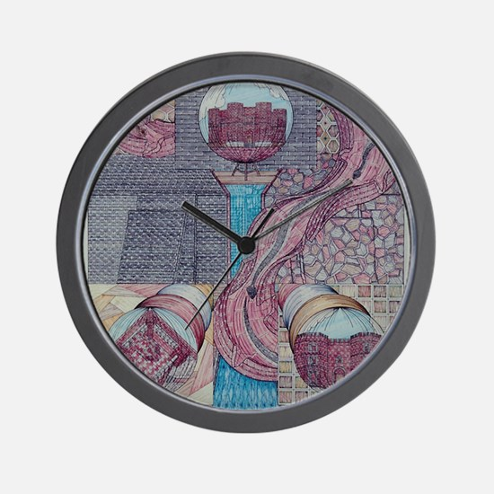 fortune of castles Wall Clock