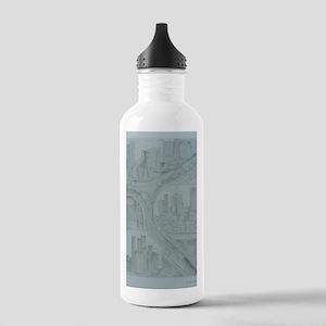 triple fall Stainless Water Bottle 1.0L