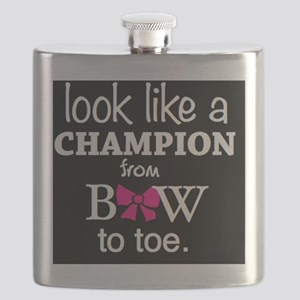Look Like a Champion From Bow to Toe Flask