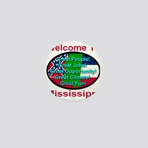Welcome to Mississippi Mini Button