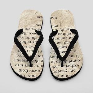 Ronald Reagan Flip Flops