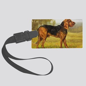 Bloodhound Large Luggage Tag