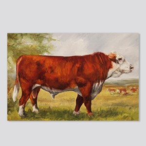 Hereford Bull The Champio Postcards (Package of 8)