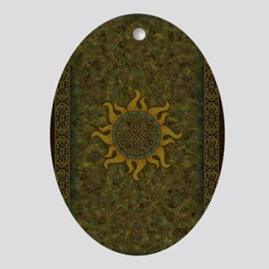 Ancient Sun - 02 Oval Ornament