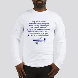 Pilot Quote Long Sleeve T-Shirt