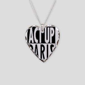 Act Up-Paris Necklace Heart Charm