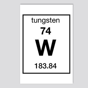 Tungsten periodic table stationery cafepress tungsten postcards package of 8 urtaz Image collections