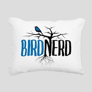 Bird Nerd Rectangular Canvas Pillow