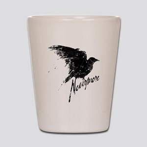 Nevermore Raven Shot Glass
