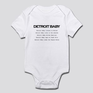 Detroit Baby Infant Bodysuit