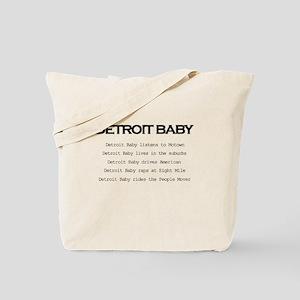 Detroit Baby Tote Bag