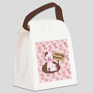 Playing In The Mud Canvas Lunch Bag