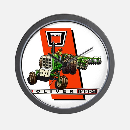 Oliver 1950-T  Tractor Wall Clock