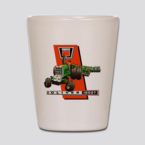 Oliver 1950-T  Tractor Shot Glass