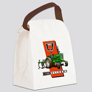 Oliver 1750 Tractor Canvas Lunch Bag